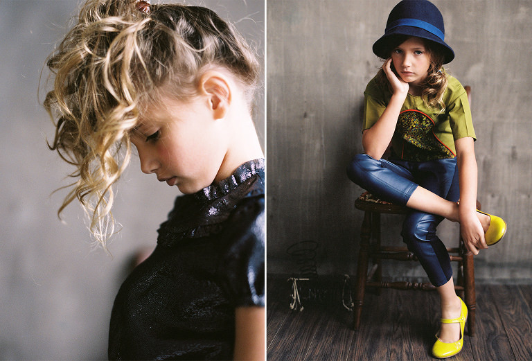 Simply Splendid industrial child fashion editorial
