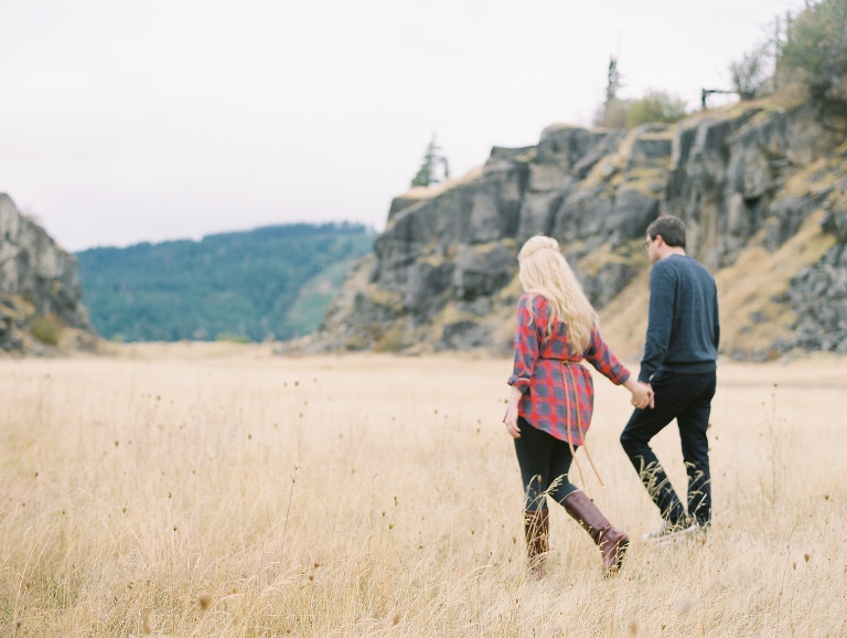 Oregon Columbia River Gorge Engagement Anniversary Film Photographer Portland Destination Texas 1
