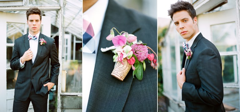 Portland Oregon Wedding Photographer Elopement Inspiration Simply Splendid Marla Cyree Groom Detail